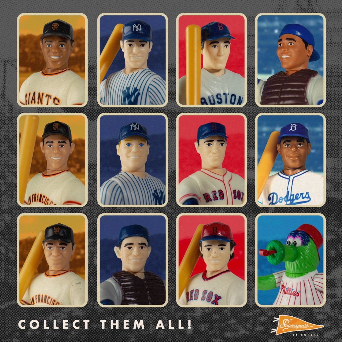 Super7 Supersports Line Launches Today With MLB Figures