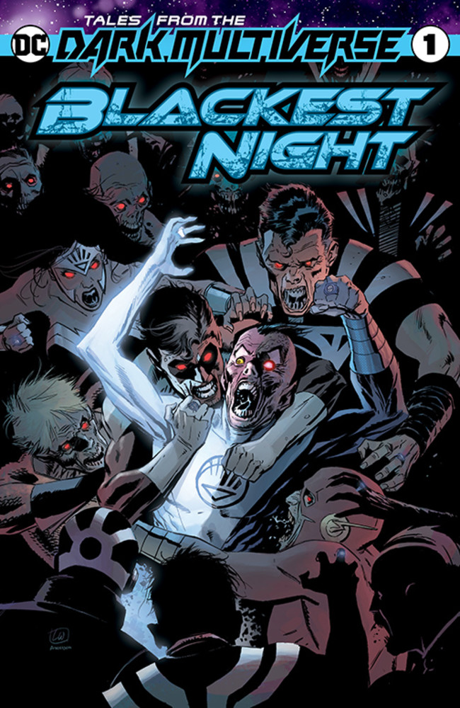 Blackest Night, Infinite Crisis Get Dark Multiverse Tales in November