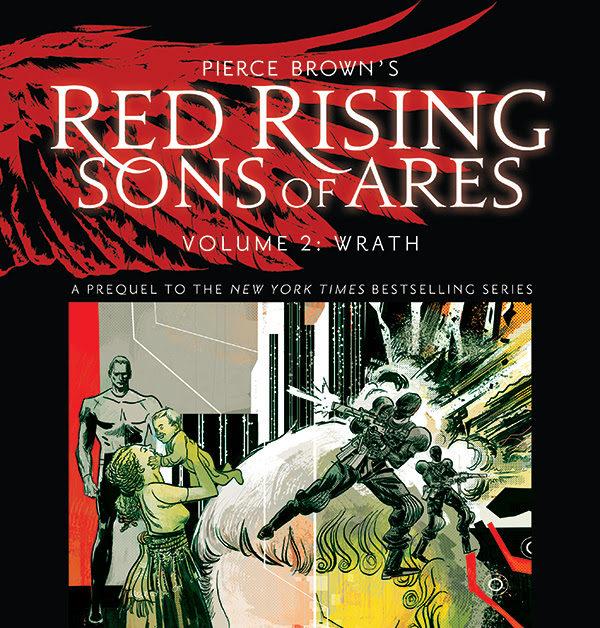 Pierce Brown, Rik Hoskin and Eli Powell Create Second Red
