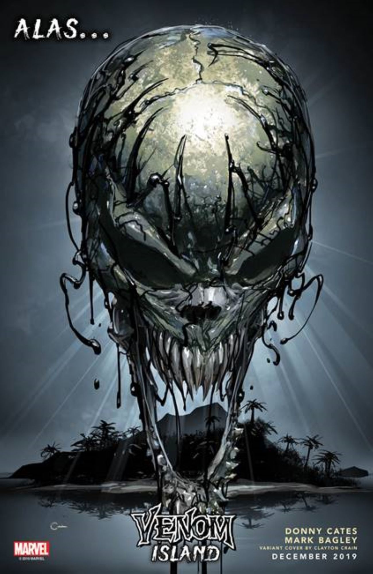 Marvel Comics December 2019 Solicitations, From Incoming to Venom, Frankensteined