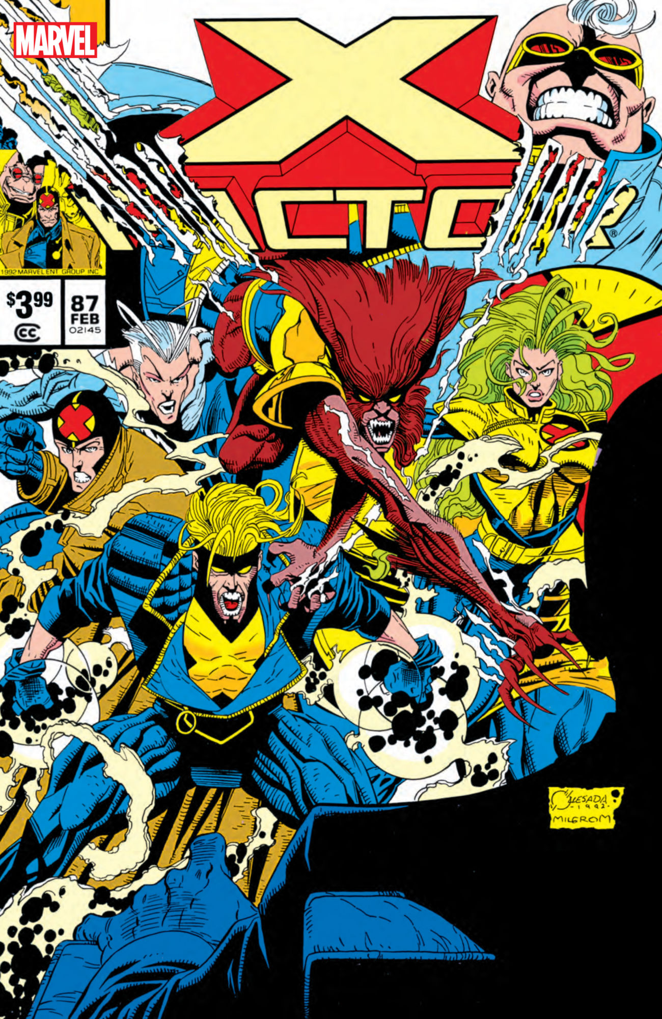 Some Classic 90s Comic Book Ads From X-Factor #87 Facsimile Edition [Preview]