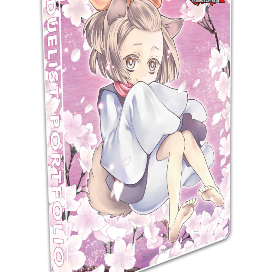 Yu-Gi-Oh PORTFOLIO PLAYMAT DECK BOX ASH BLOSSOM SMALL YUGIOH CARD SLEEVES
