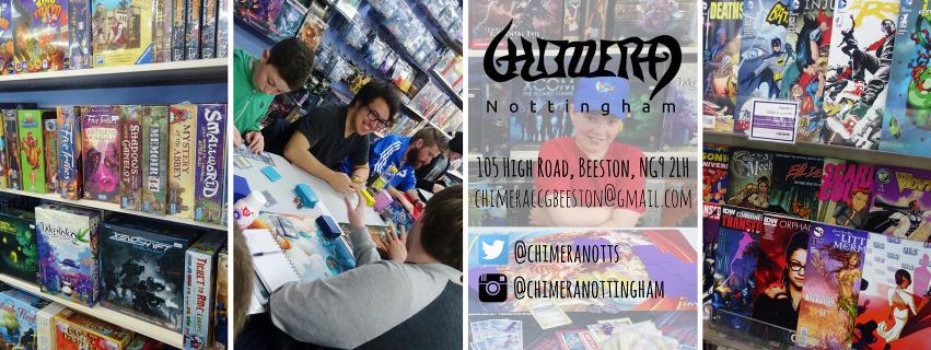 Chimera Nottingham Comic Shop to Close
