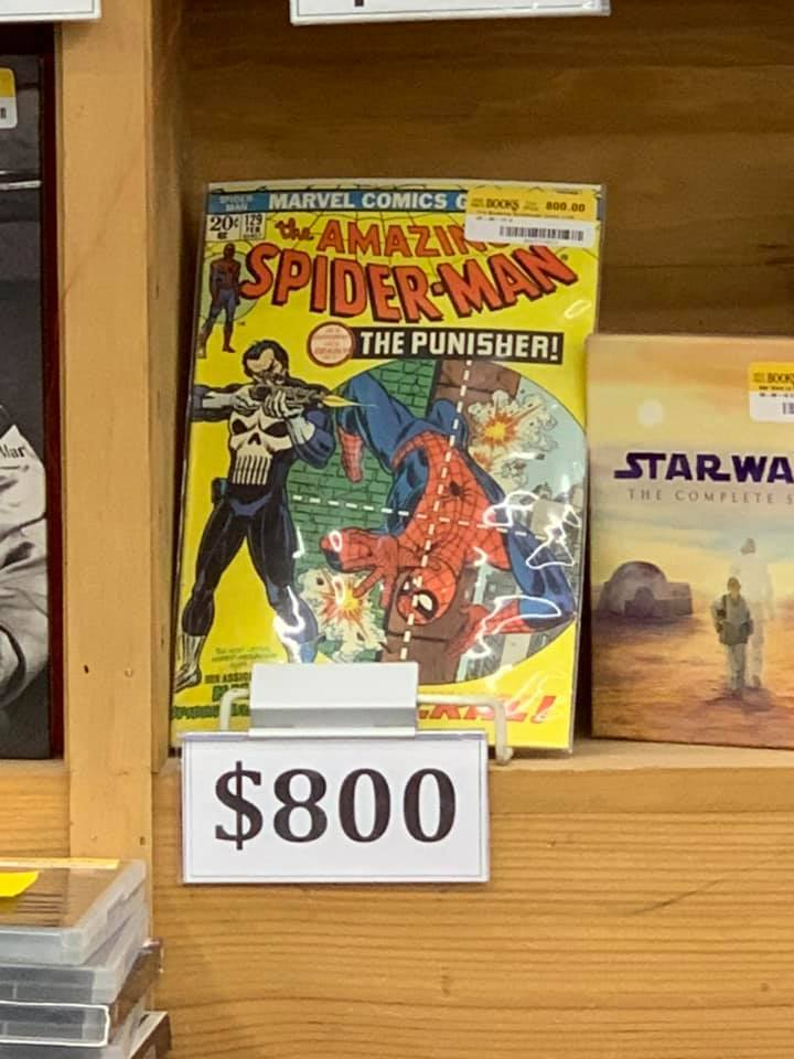 The Man Who Haggled the Punisher's First Appearance at Half Price Books