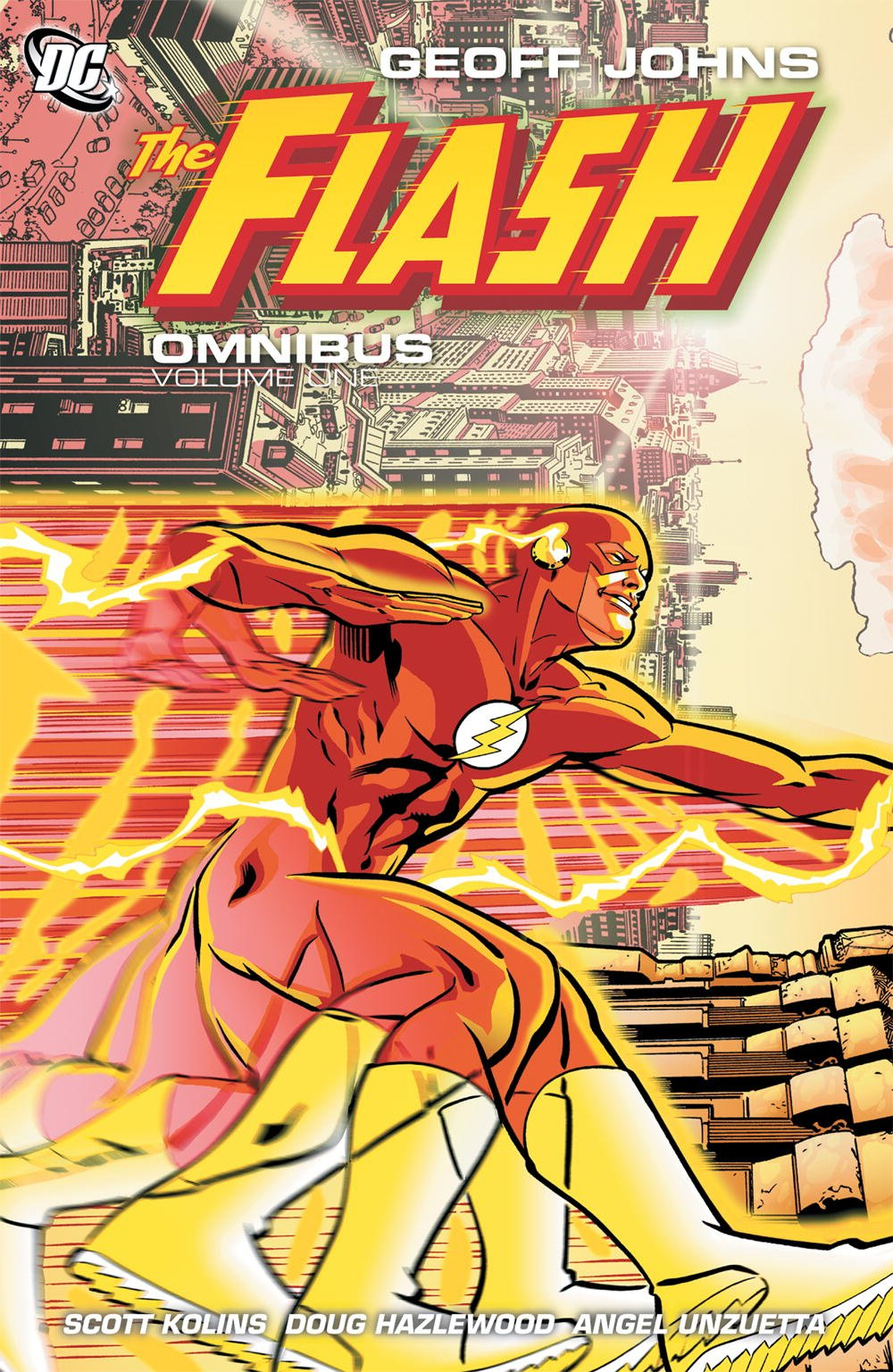DC First: Flash and Superman #1 Added to New Printing of Geoff Johns' Flash Omnibus Vol 1