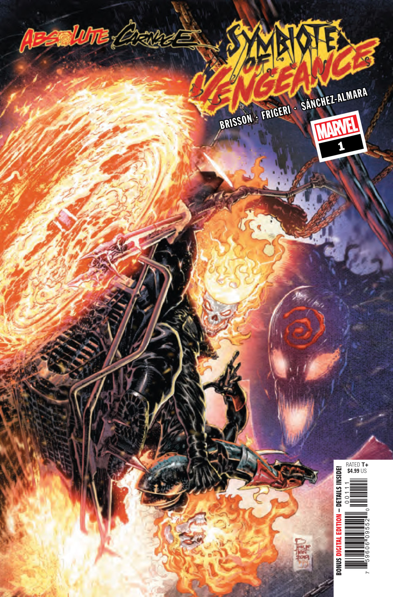 Carnage Wants His Very Own Ghost Rider in Absolute Carnage: Symbiote of Vengeance #1 [Preview]