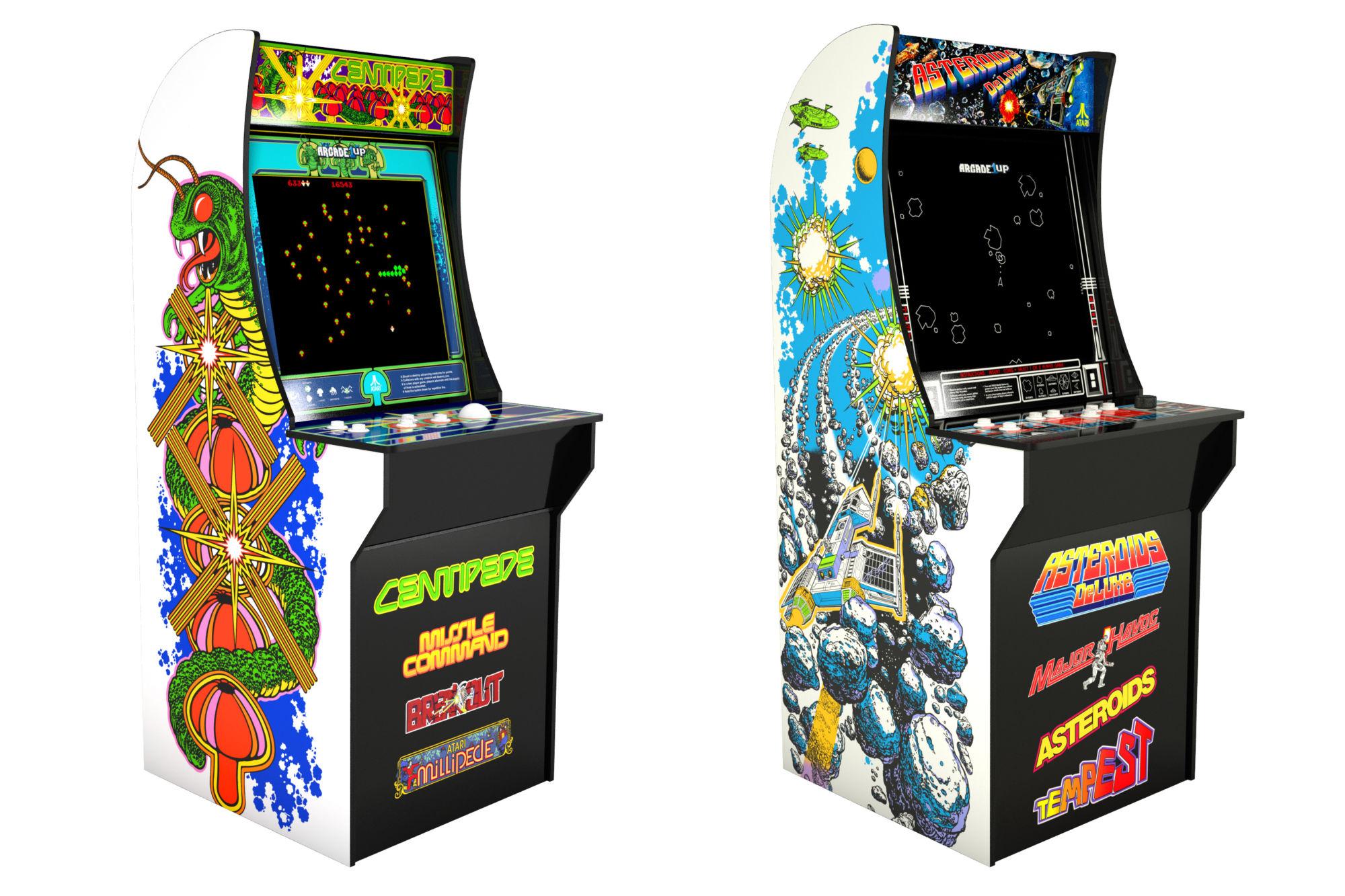 Atari & Arcade1Up Enter Into Exclusive Arcade Partnership