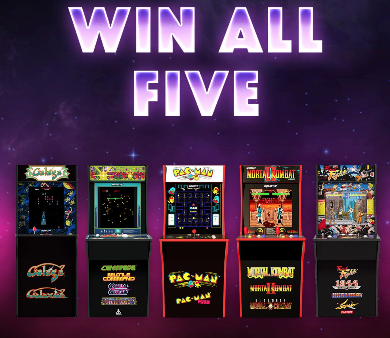 Arcade1Up Will Celebrate National Video Day With A Giveaway