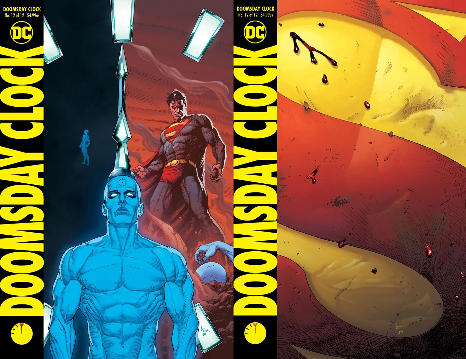 Doomsday Clock #12 Will Be Out Before The End of the Year… Just.