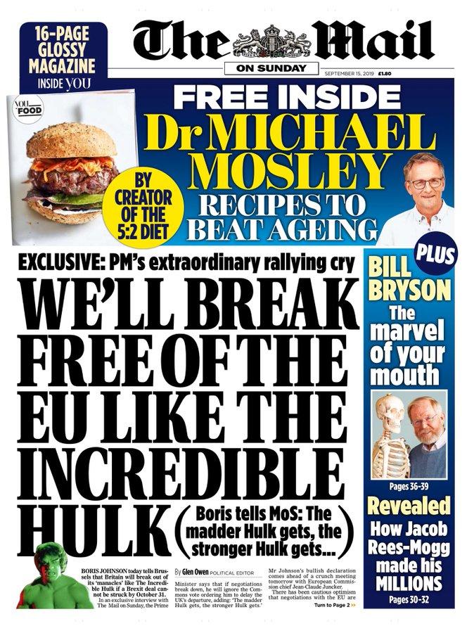 Prime Minister Boris Johnson Gets Smashed By Hulk References