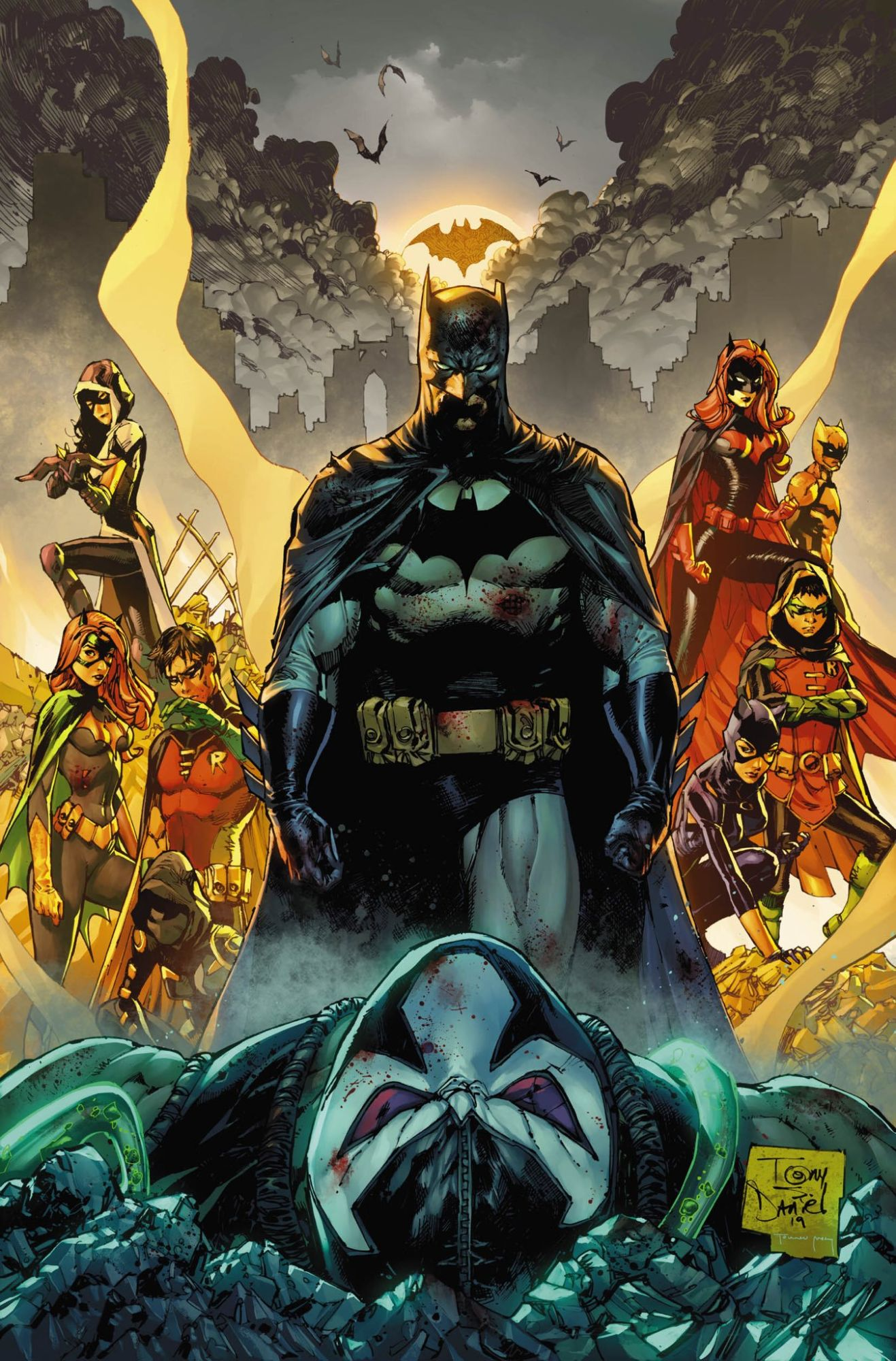 OFFICIAL: Tony Daniel, Danny Miki and Tomeu Morey as New Batman Ongoing Artists in 2020