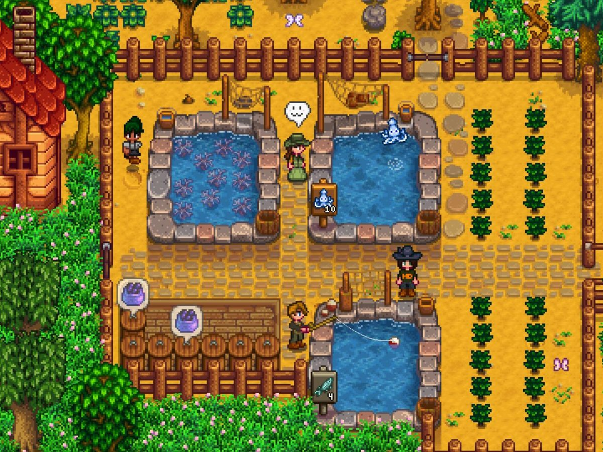 We Re Getting Fish Ponds In The Next Stardew Valley Update