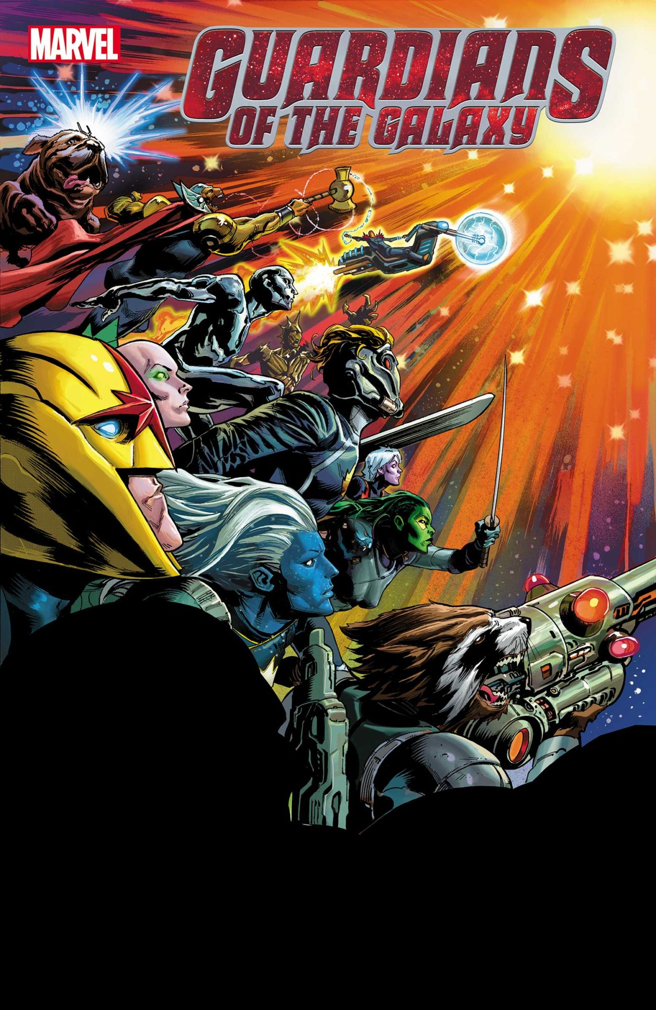Donny Cates Brings Cosmic Storylines to A Grand Finale in Guardians Of The Galaxy #12???