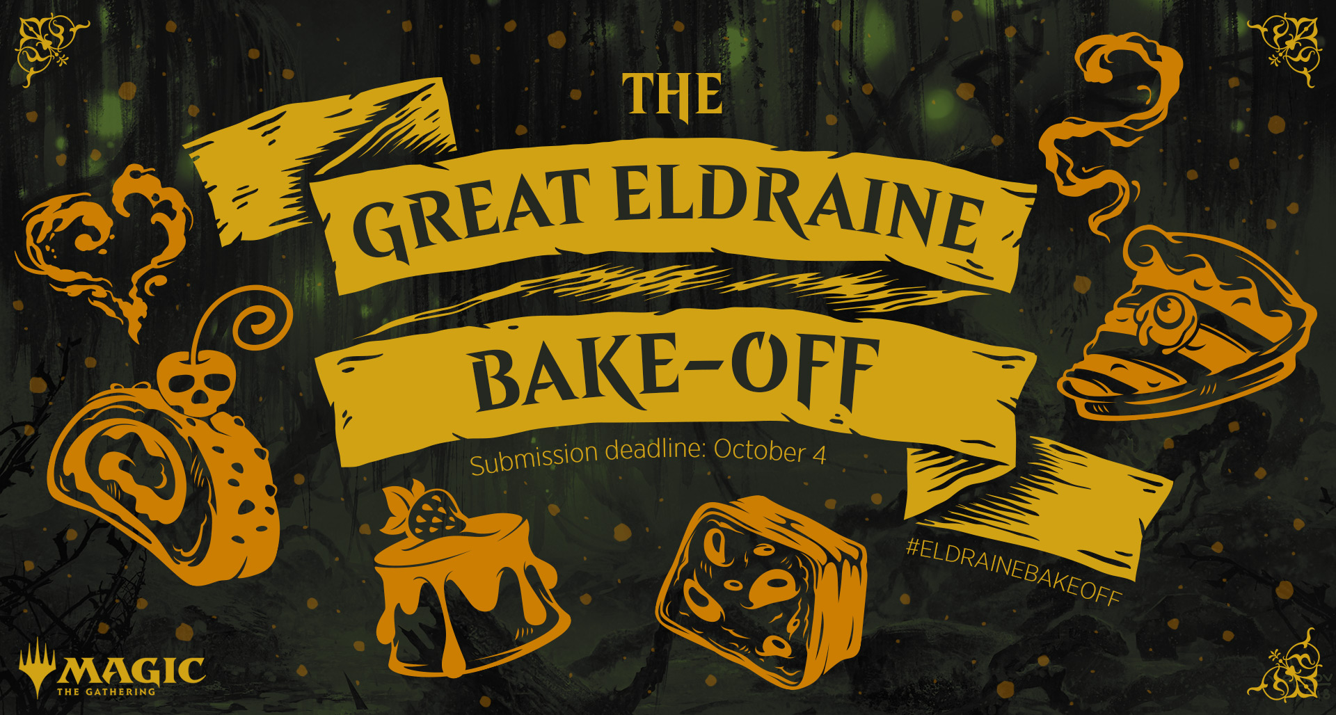 """The Great Eldraine Bake-Off"" Kicks Off! - ""Magic: The Gathering"""