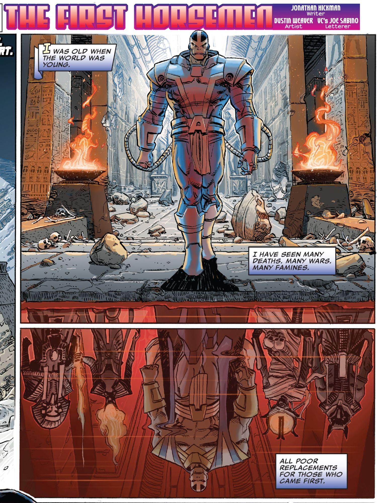 Speculator Corner: Marvel Comics #1000 – First Appearance of Apocalypse's Original Four Horsemen From HOXPOX