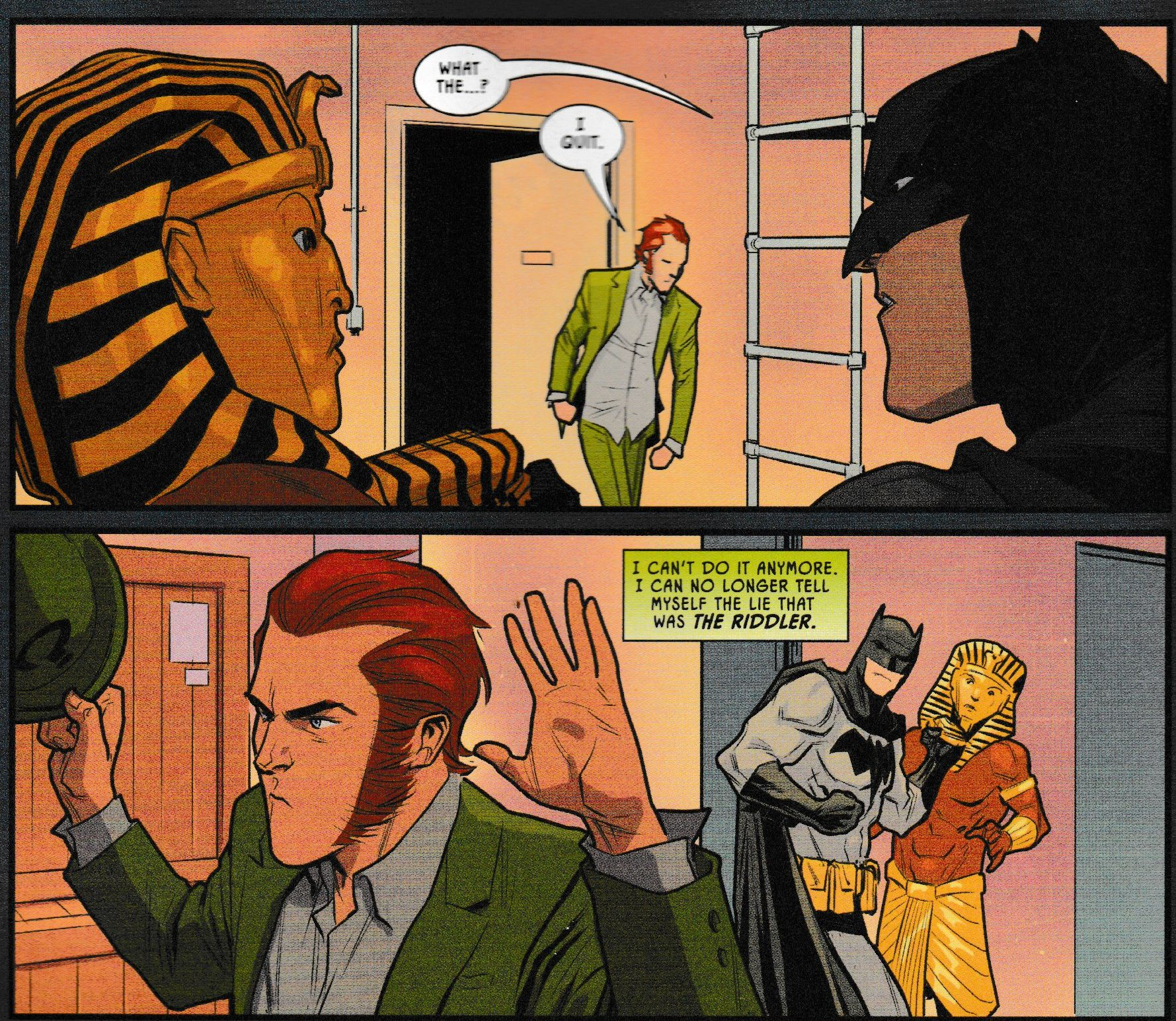What Is Up With The Riddler In Batman #87? (Spoilers)