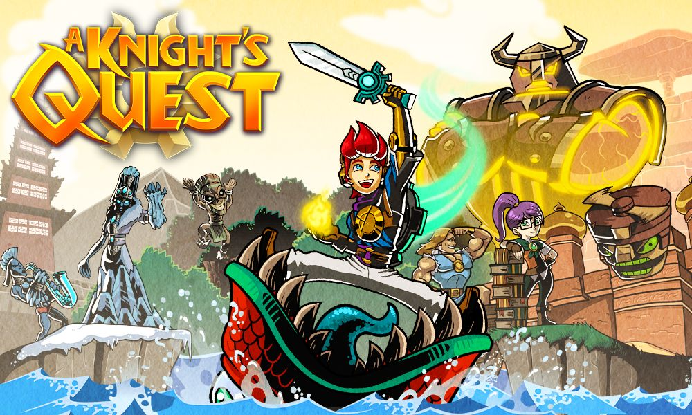 """""""A Knight's Quest"""" is a Classic """"Zelda"""" Style RPG"""