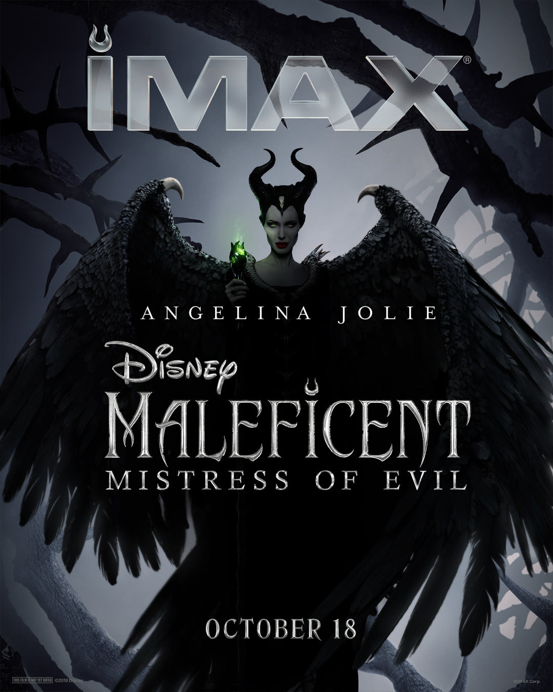 New Posters And Tv Spot For Maleficent Mistress Of Evil