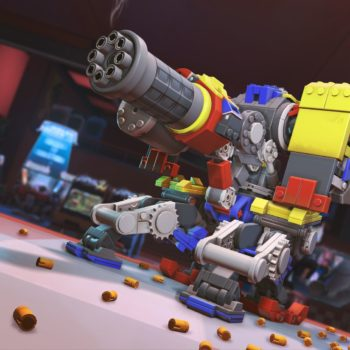Overwatch Launches The Bastions Brick Challenge Event