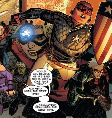 Young Avengers Relaunch in 2020 – To Replace Champions?