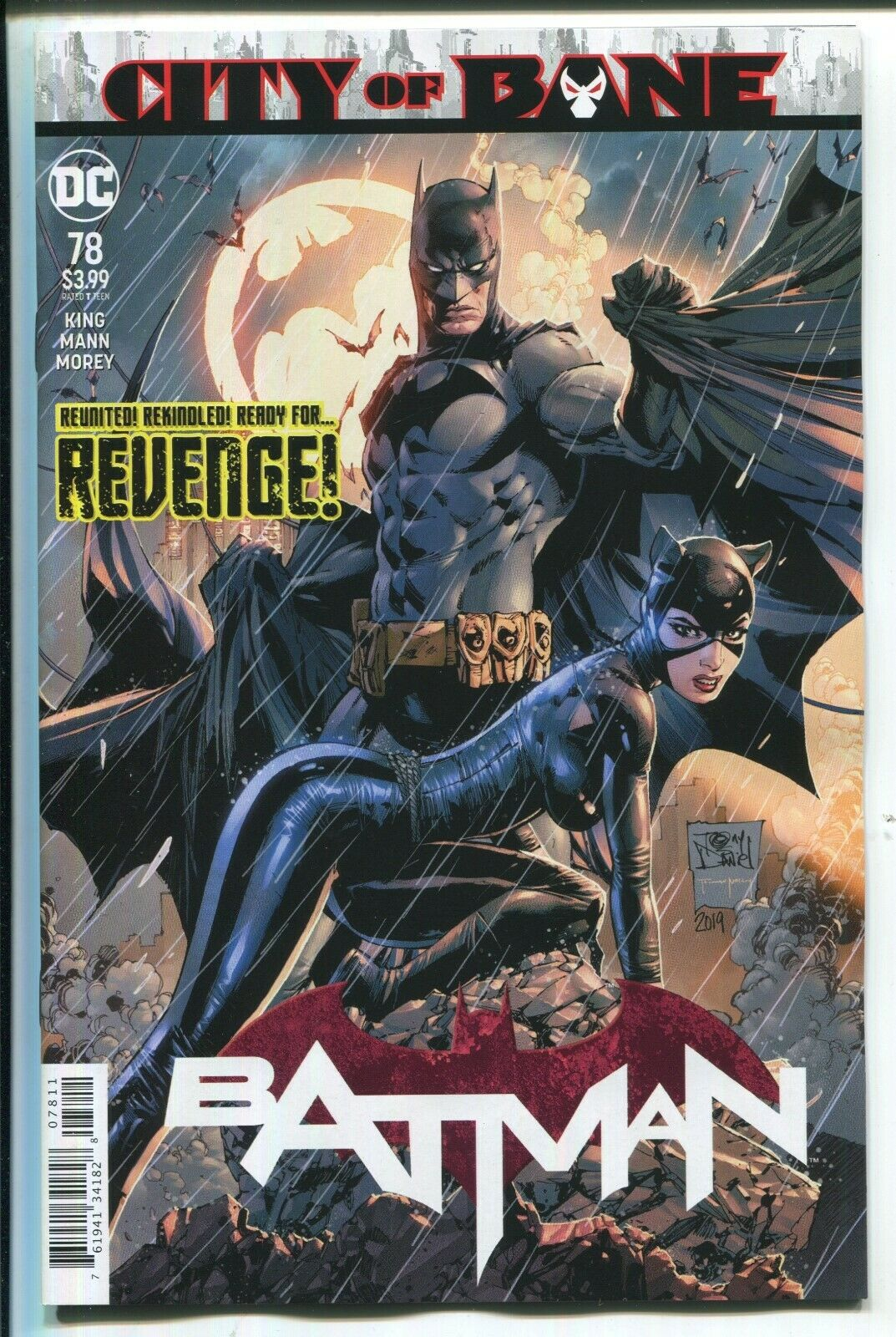 Batarang Therapy – Spoilers For Batman #77 and Event Leviathan #4