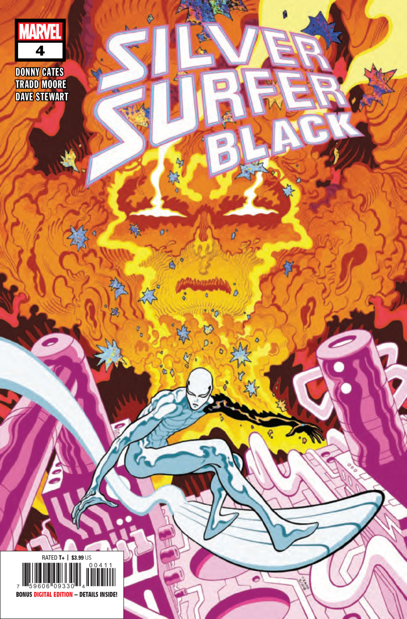 Will the Surfer Kill Baby Galactus in Silver Surfer Black #4? [Preview]