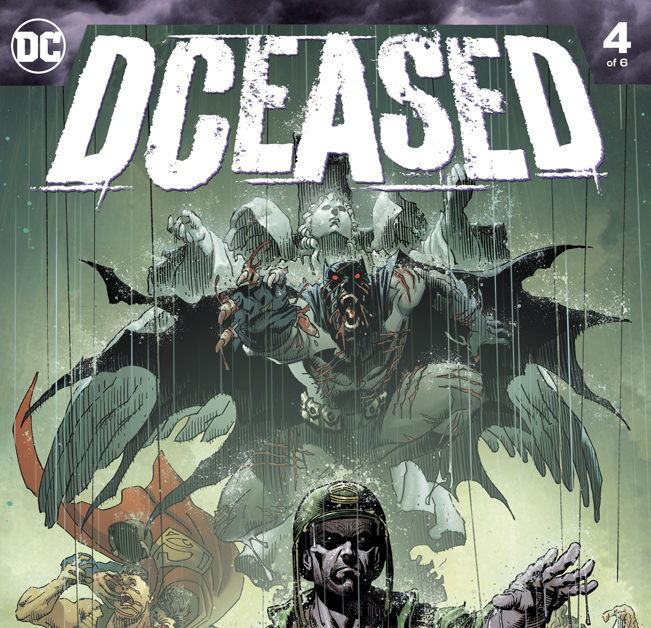DCeased #4 Outsold House Of X #4 in August 2019 – Top 500 Split Cover-Combined Chart