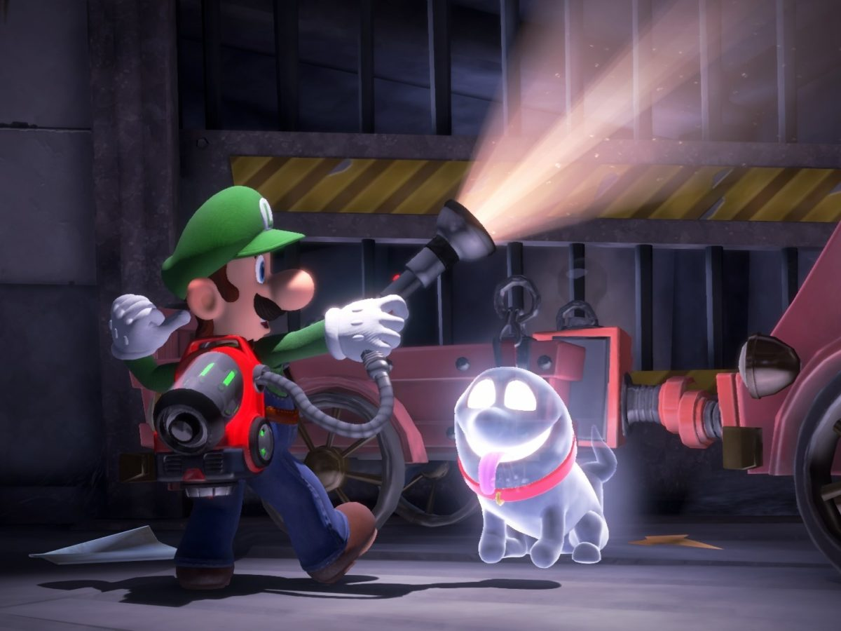Luigi S Mansion 3 Co Op Is Shared Screen Insanity