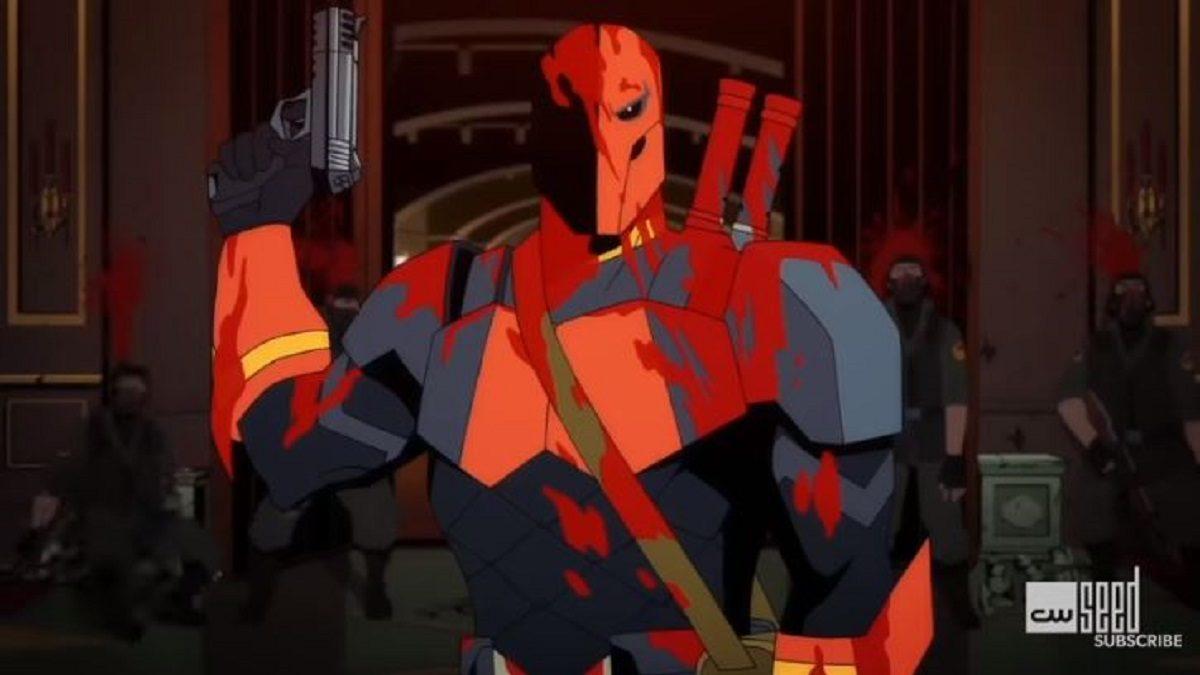 Deathstroke Knights Dragons Double Cross Slade Wilson Trailer