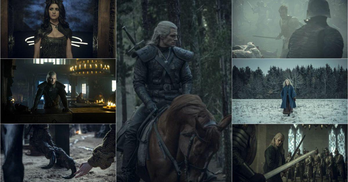 """The Witcher"" Official Poster Has Geralt, Yennefer & Ciri Standing Tall"
