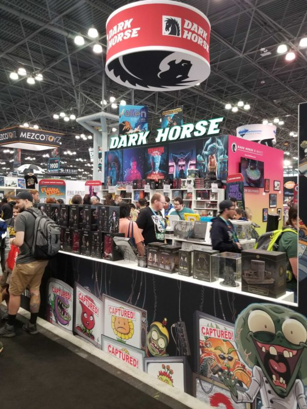 First Look at Dark Horse's New York Comic Con Booth #NYCC