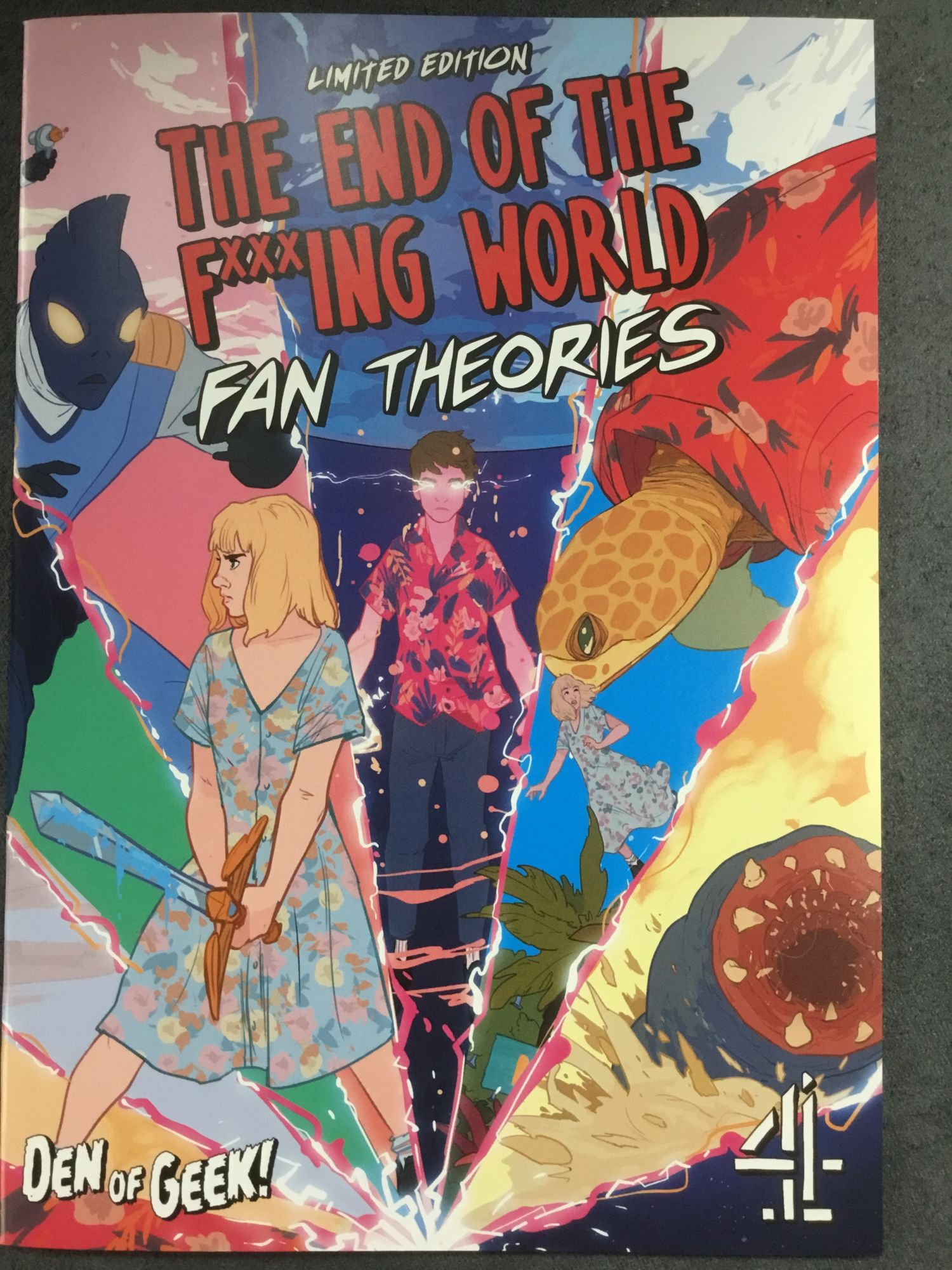 The End Of The F***king World Gets An Official Fan Theories Comic for MCM London