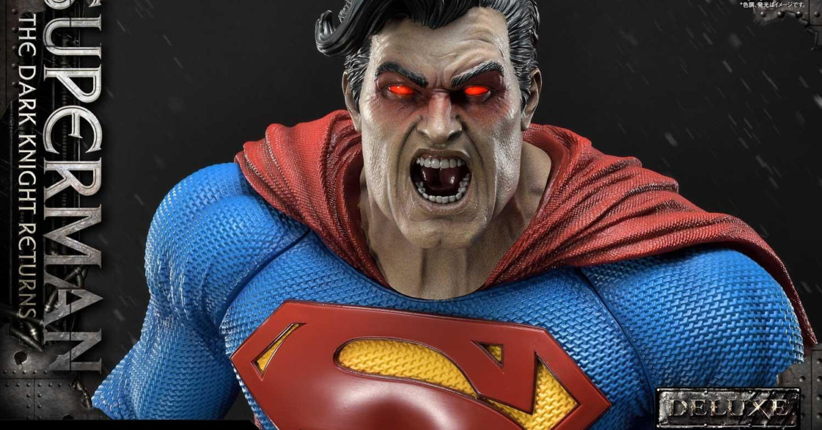 Superman Is Out To Kill Batman In A New Prime 1 Studio Statue