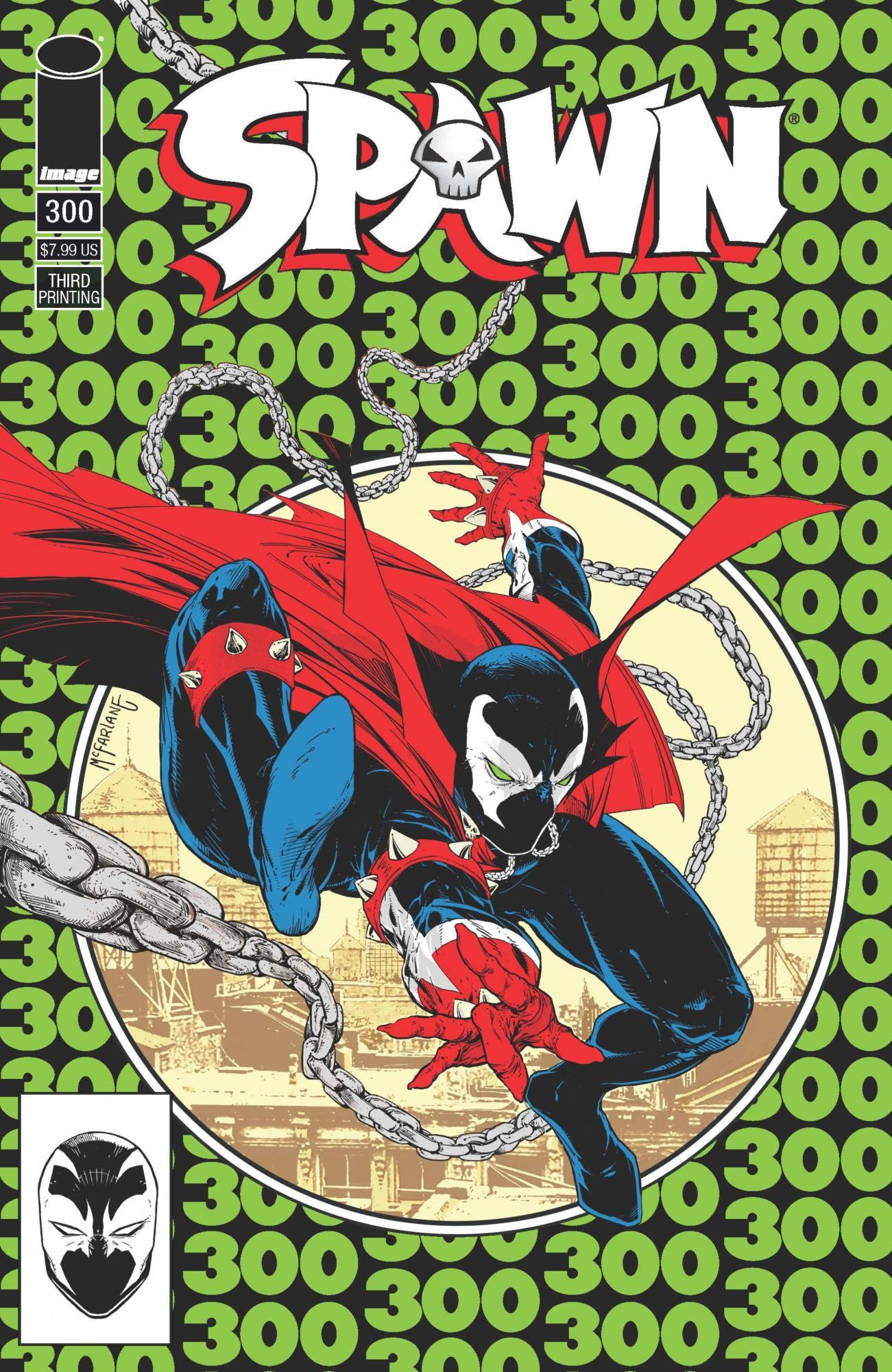 Spawn #300 Gets Its Third Printing – And Looks a Little Familiar