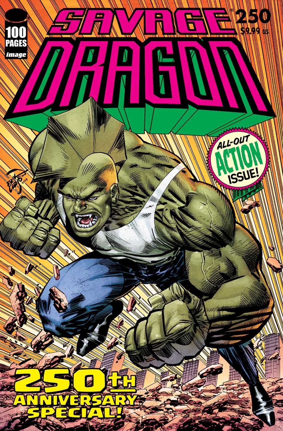 A Look at a 100-Page Savage Dragon #250 for 2020