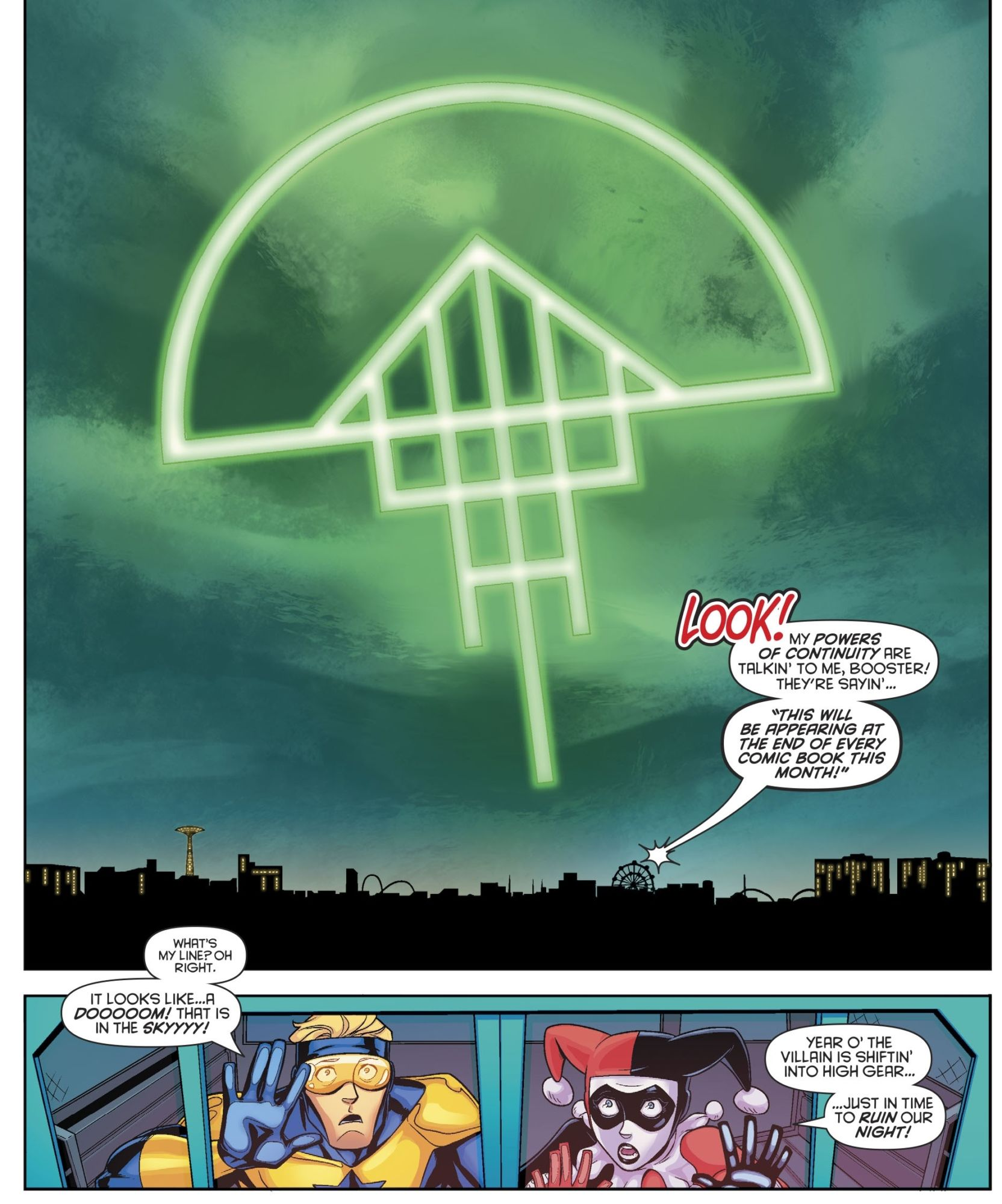 The Doom Signal Starts a Hostile Takeover in DC Comics (Hawkman, Supergirl, JLO, Harley Quinn, Deathstroke and Catwoman Spoilers)