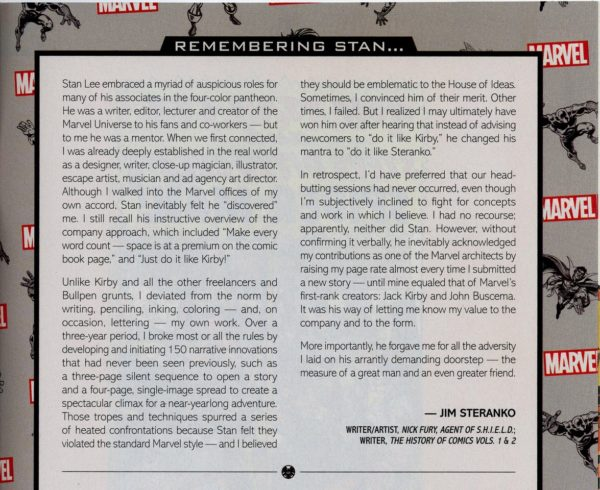 Marvel Comics to Publish Steranko is Revolutionary! King-Size Hardcover