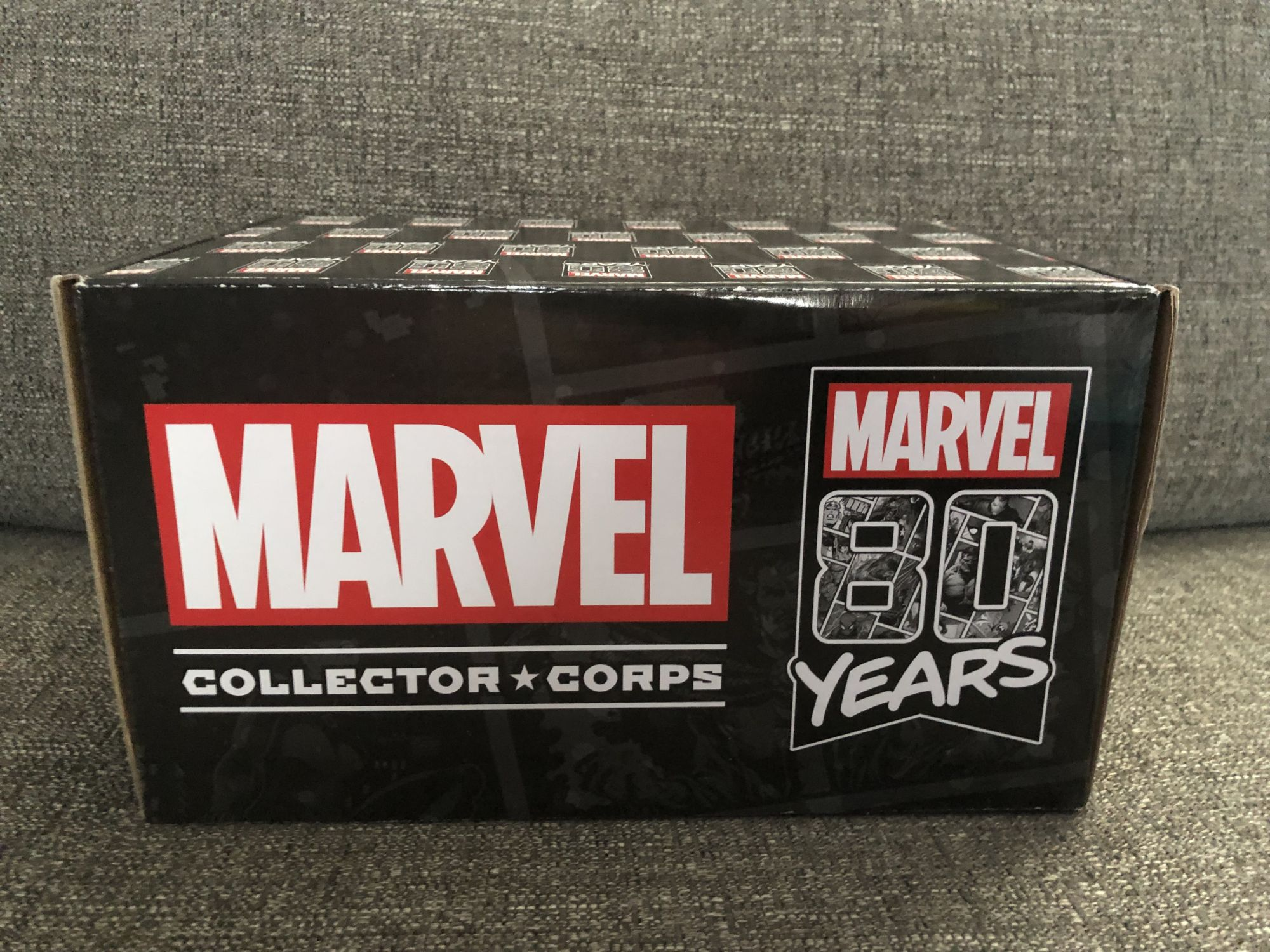 Let's Jump Into The Past With Marvel Collector Corps 1939 Box [Unboxing]