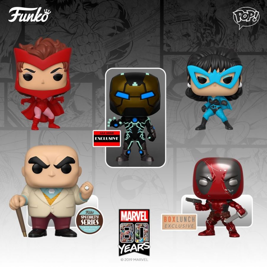 Marvel 80th Anniversary Getting More Funko Pops