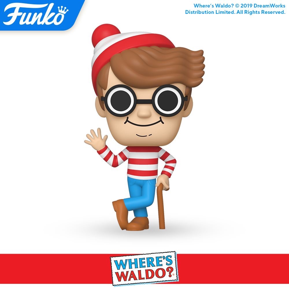 October Funko Pop Releases - Where's Waldo, Smokey the Bear, etc