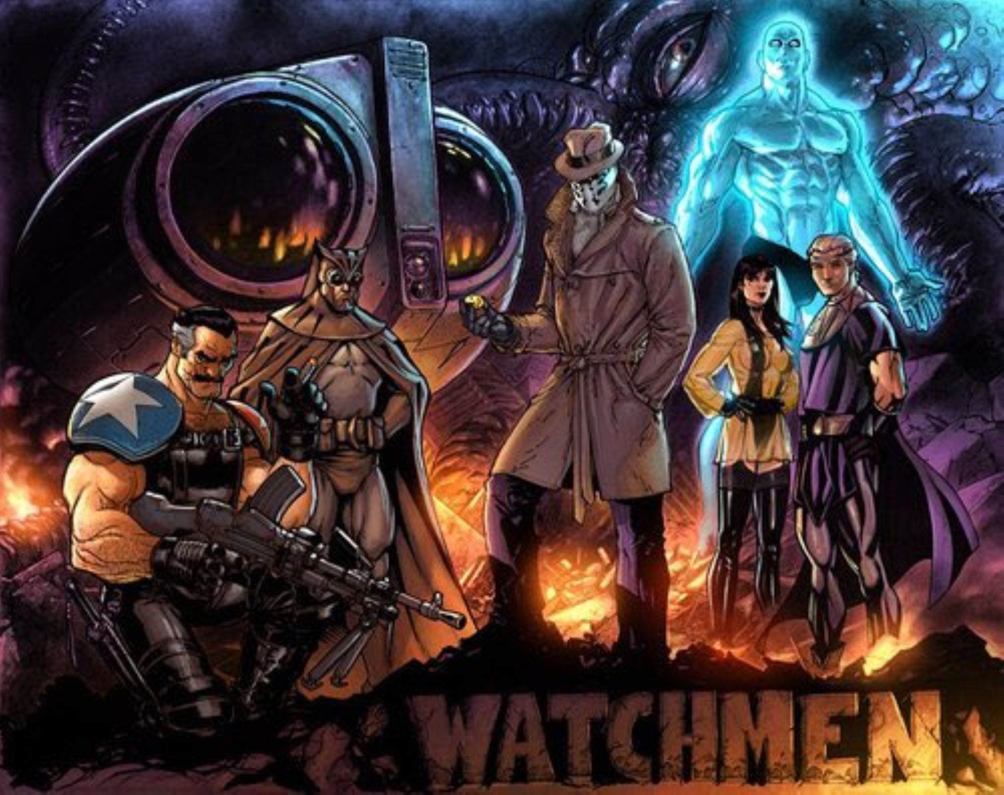 Jim Lee Draws Watchmen – And Then Lost It