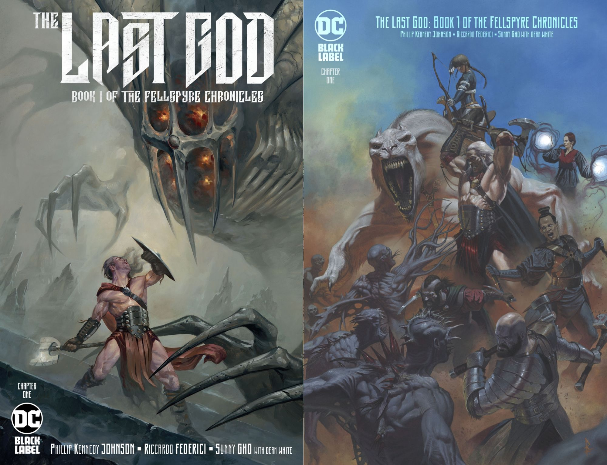 """DC Comics to Overship Philip Kennedy Johnson's """"The Last God: Book One of the Fellspyre Chronicle"""""""