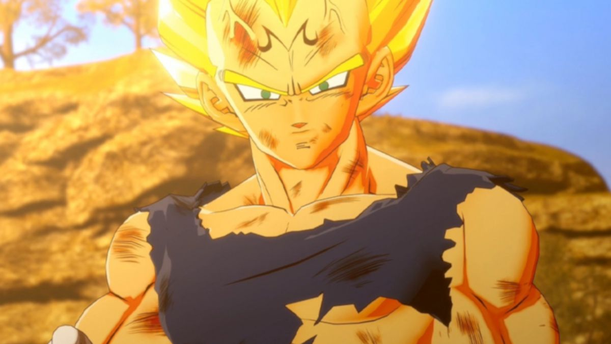 "Watch Majin Vegeta Come to Life in ""Dragon Ball Z: Kakarot"""