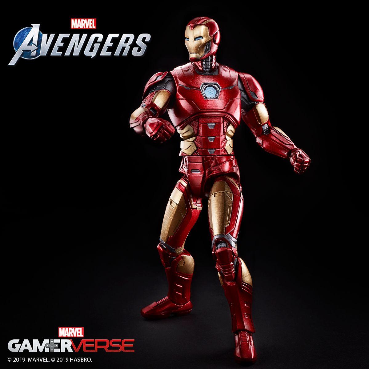 "Iron Man Gets A Marvel Legends Figure For ""Marvel's Avengers"""