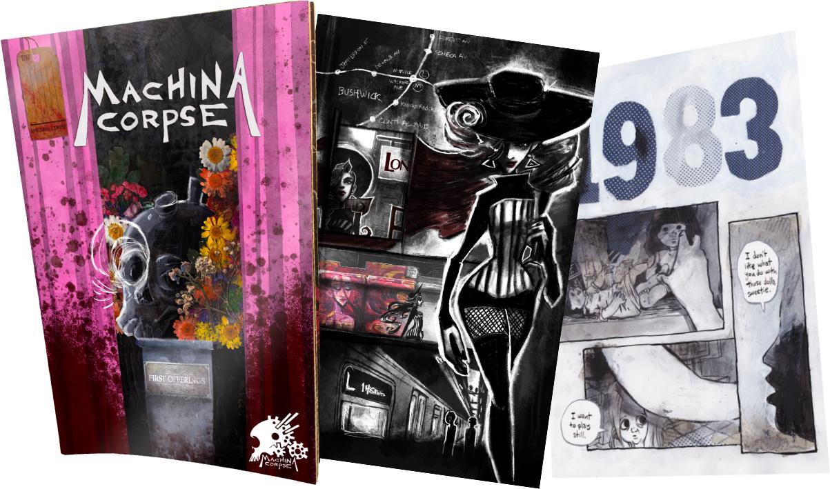Machina Corpse to Reinanimate the Spooky Comic Publisher