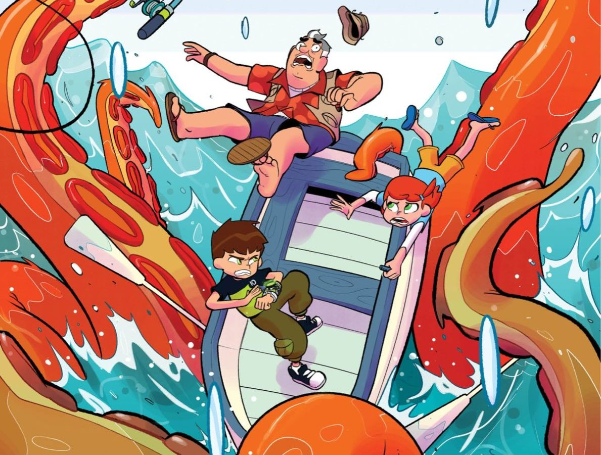 Ben 10 Takes A Summer Vacation In The Creature From Serenity Shore In 2020 The summer evening was sultry. ben 10 takes a summer vacation in the