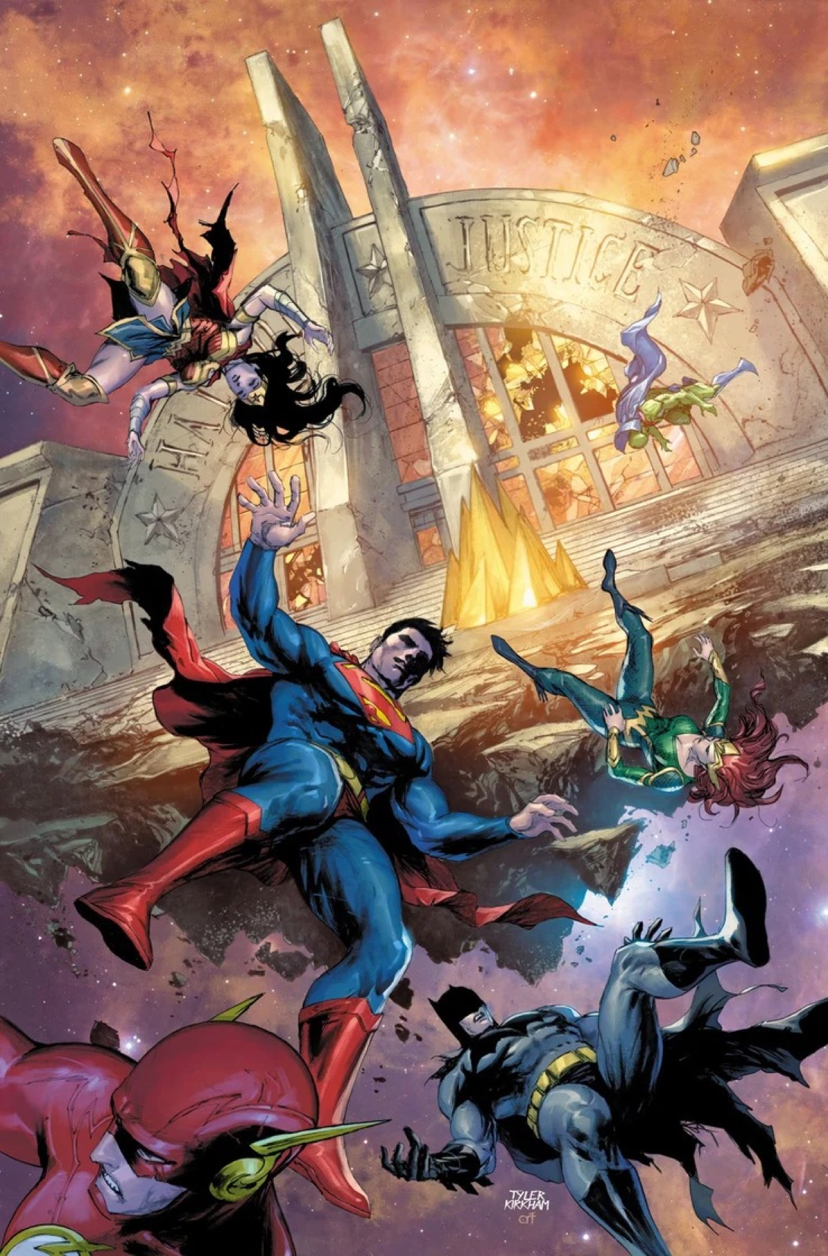 Scott Snyder Says Farewell to Justice League in January's Justice League #39