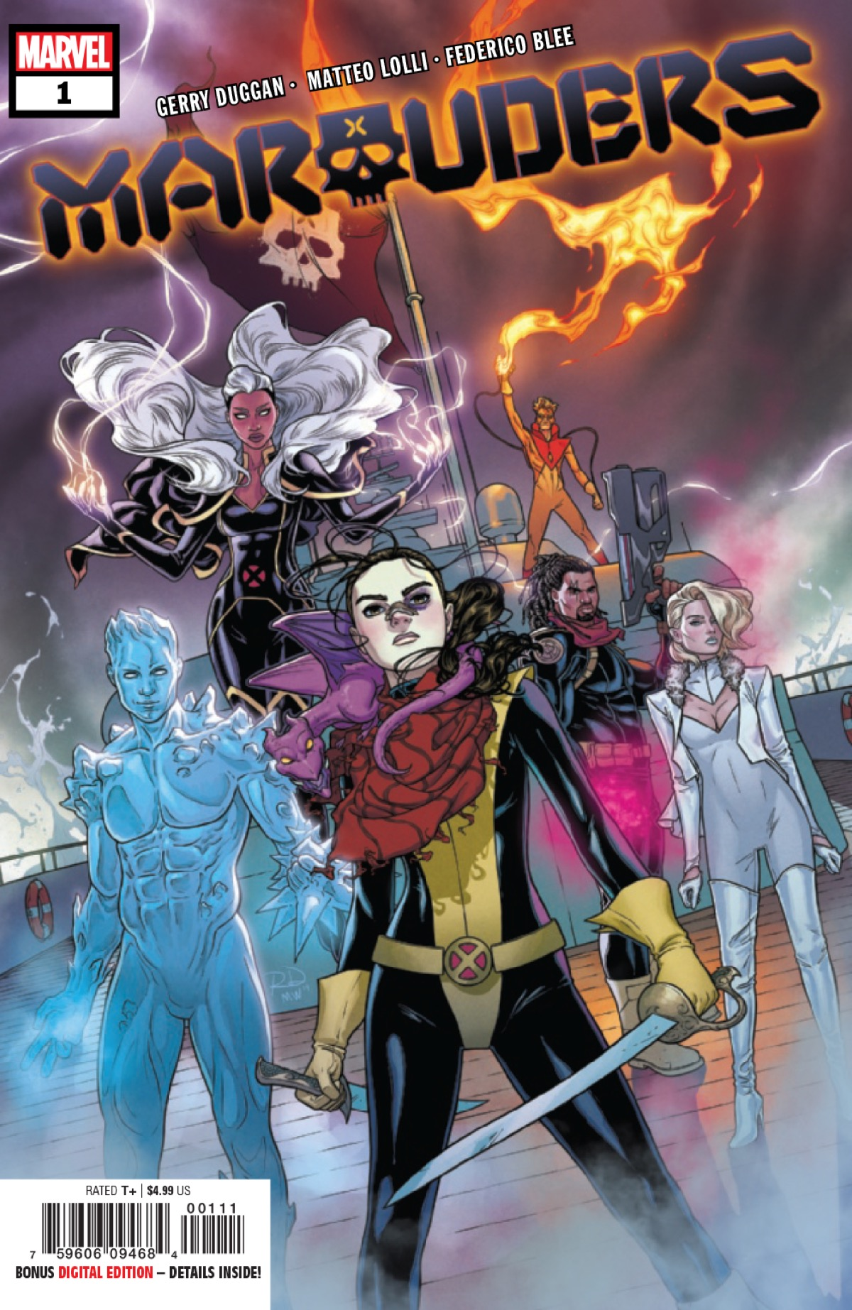 Yo Ho, Yo Ho, a Pirate's Life for Kitty Pryde in Marauders #1 [X-ual Healing 10-23-19]
