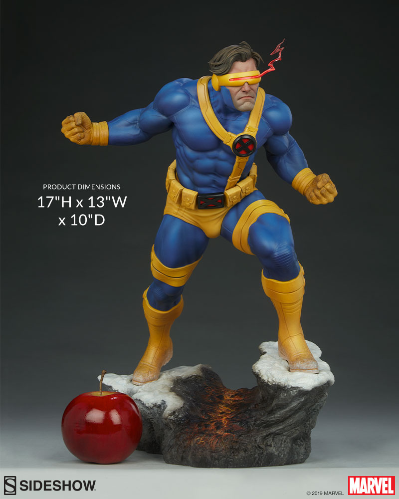 Cyclops Gives Us A '90s Throwback With This New Sideshow Statue