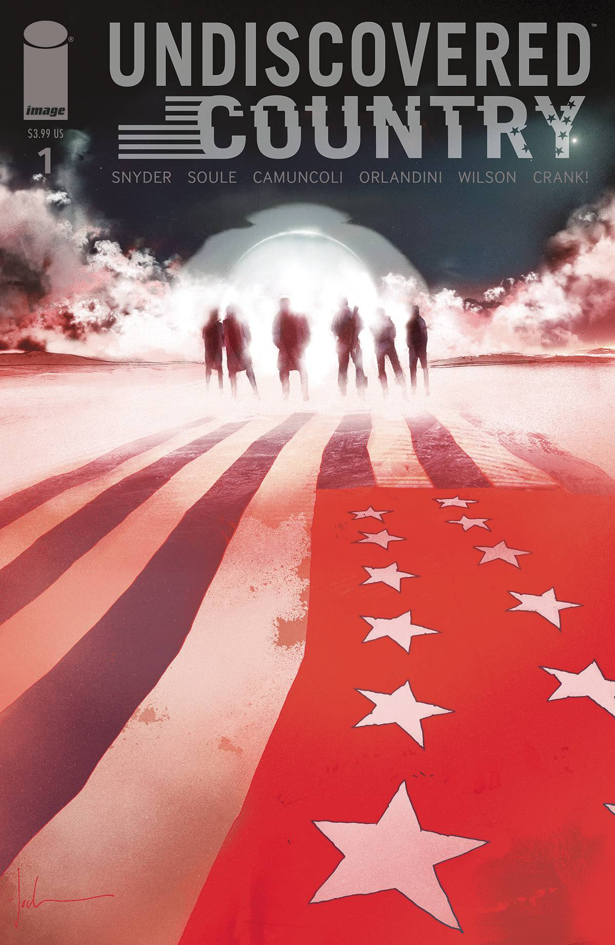 Undiscovered Country #1 from Scott Snyder, Charles Soule and Giuseppe Camuncoli Dominates Advance Reorders